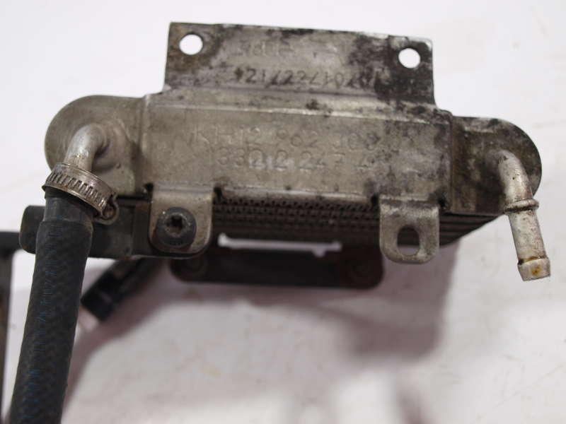 Радиатор масла, bmw 5 e39 (бмв), радиатор топливного фильтра бмв е39 2.5-3.0д 1995-2003, б/у