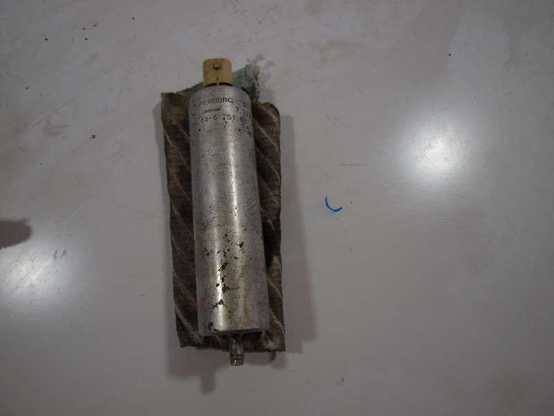 Топливный насос, bmw 5 e39 (бмв), топливный насос бмв е39 pierburg оригинал бу, б/у, автомобильные