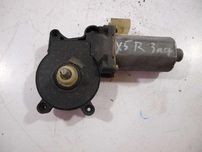 Стеклоподъемники, bmw x5 e53 (бмв), электро мотор стеклоподъемника задний правый bmw x5 e53, б/у