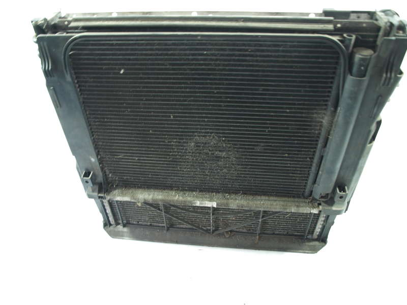 Радиатор воды, bmw x5 e53 (бмв), комплект радиаторов бмв х5 е53 1999-2006 3.0д, б/у, радиатор