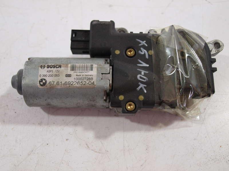 Электропривод люка, bmw x5 e53 (бмв), электро мотор механизма люка 0390200053 bmw x5 e53, б/у
