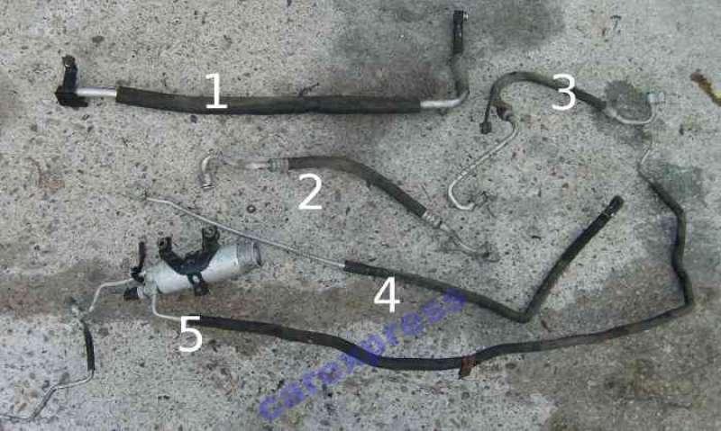 Трубки и шланги кондиционера, toyota camry v30, патрубок, трубка кондиционера toyota camry (v30)