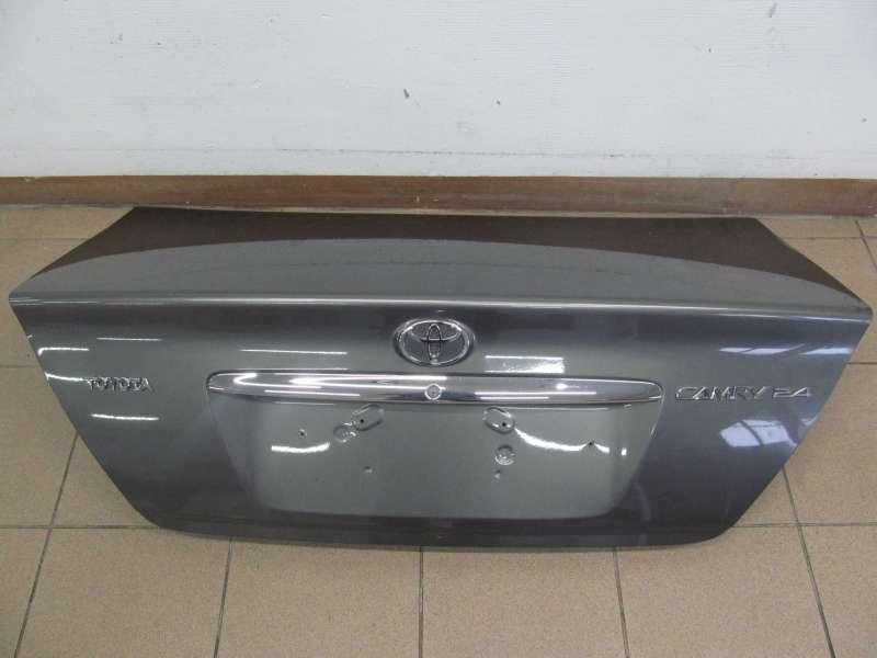 Крышка багажника, toyota camry v30, крышка покрытие багажника на toyota camry (v30) 3.0, б/у