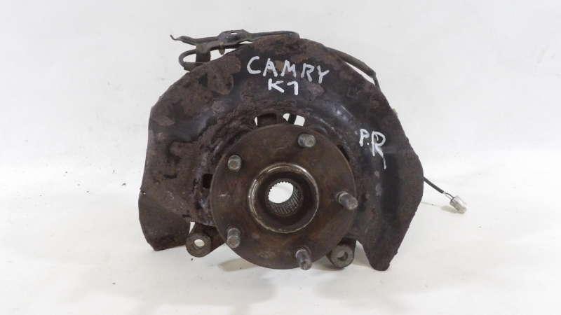 Ступица, toyota camry v40, ступица передняя правая, toyota camry (v40) 3.5, б/у, ступица