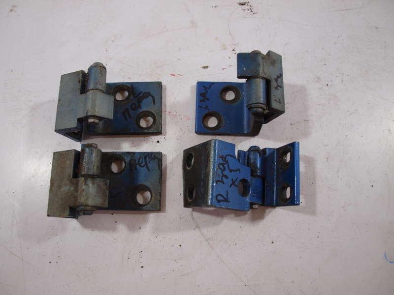 Петля двери, bmw x5 e53 (бмв), комплект петель дверей на машину bmw x5 e53, б/у, петли