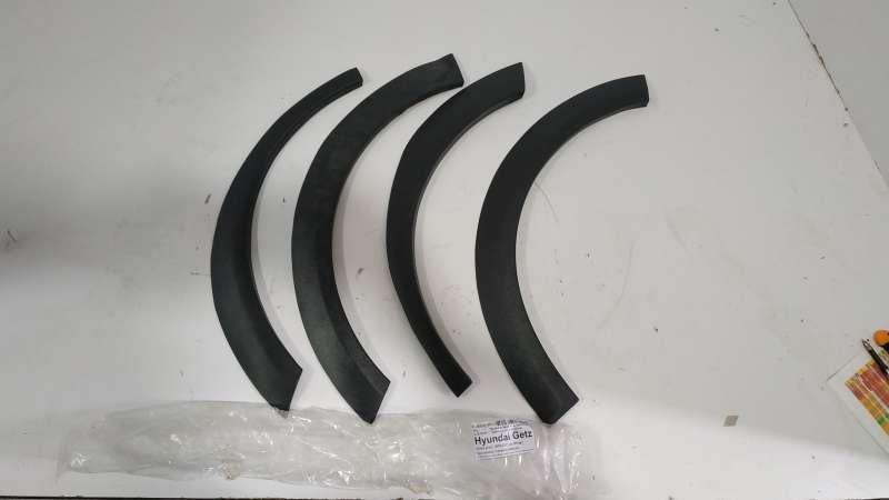Молдинги, накладки, hyundai getz (хундай), накладки на крыла hyindai getz 5 дв.хетч 2005-2011 4шт