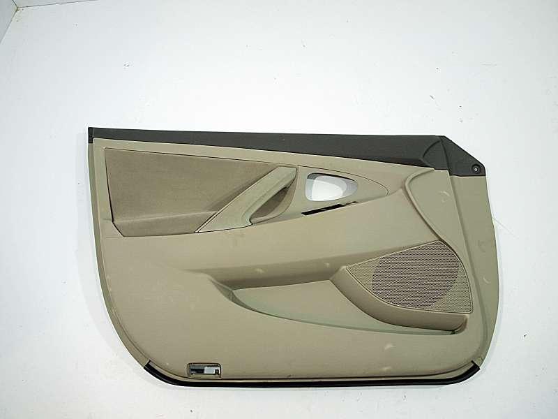 Обшивка дверей, toyota camry v40, карта двери передней левой к toйота камри 40, б/у, обшивки