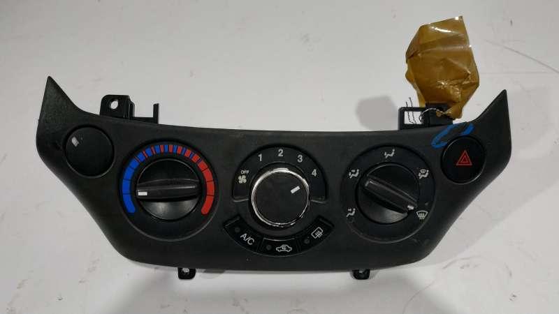 Панель управления, переключатели, chevrolet aveo t250 (шевроле), панель переключателей печки