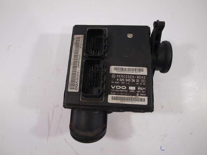 Блок управления двигателем, mercedes-benz a-class w168 (мерседес), ебу мерседес а-class w168 1.4