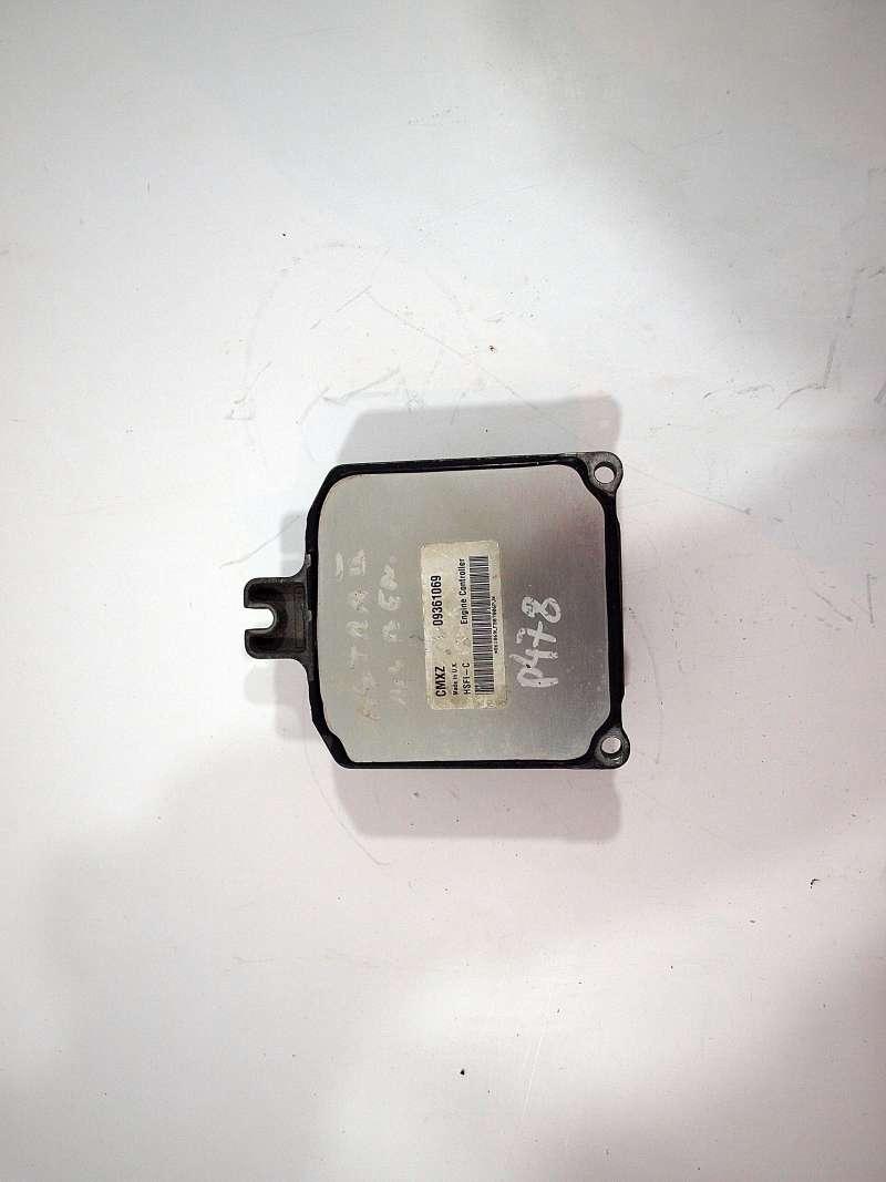 Блок управления двигателем, opel astra g (опель), astra g 1.4 16v блок управления двигателем, б/у