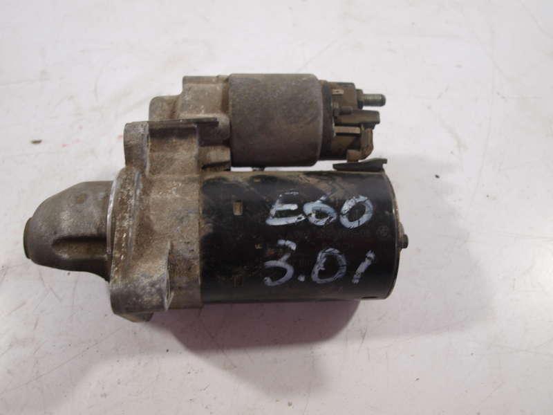 Стартер, bmw 5 e60 (бмв), стартер bmw 5 e60 3.0 бензин 2003-2010 оригинал бу, б/у