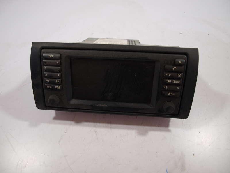 Панель управления, переключатели, bmw 5 e39 (бмв), экран радио 65526916610 на машину bmw 5 e39