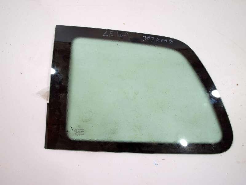 Кузовное стекло, peugeot 307 sw(02-08) (пежо), левое кузовное стекло peugeot 307 sw 2006 год