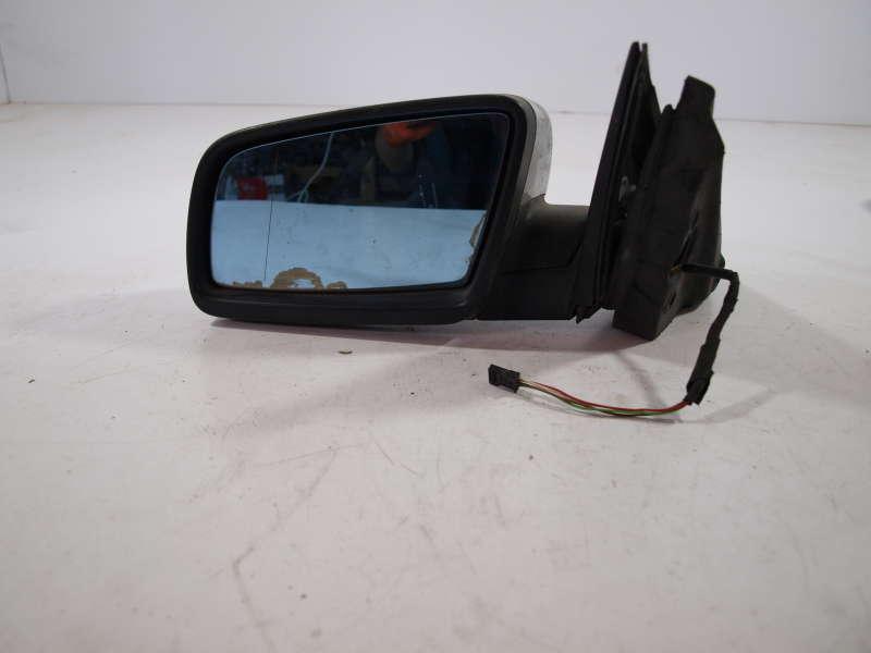 Комплект зеркала, bmw 5 e60 (бмв), електро зеркало на 4 контакта левое bmw 5 e60, б/у, зеркало