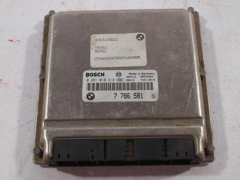 Блок управления двигателем, bmw x5 e53 (бмв), блок управления двигателем 7786581 bmw x5 e53, б/у
