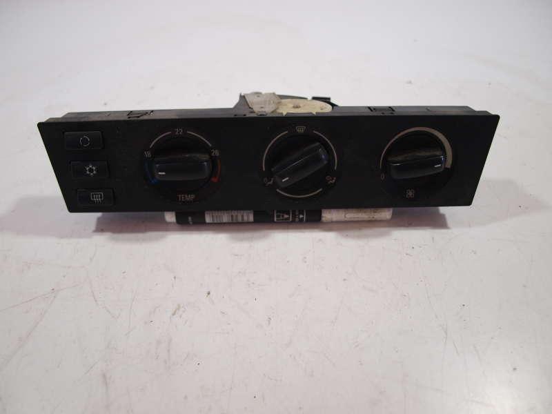 Панель управления, переключатели, bmw 5 e39 (бмв), блок управления вентилятором печки 146440-5242