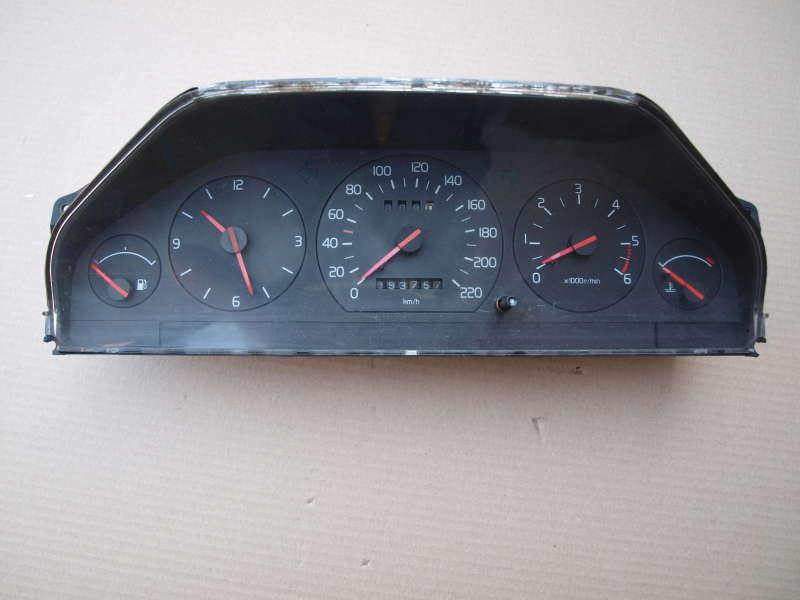 Панель управления, переключатели, volvo 940 (вольво), панель прыборов volvo 940 2.4td з 1994