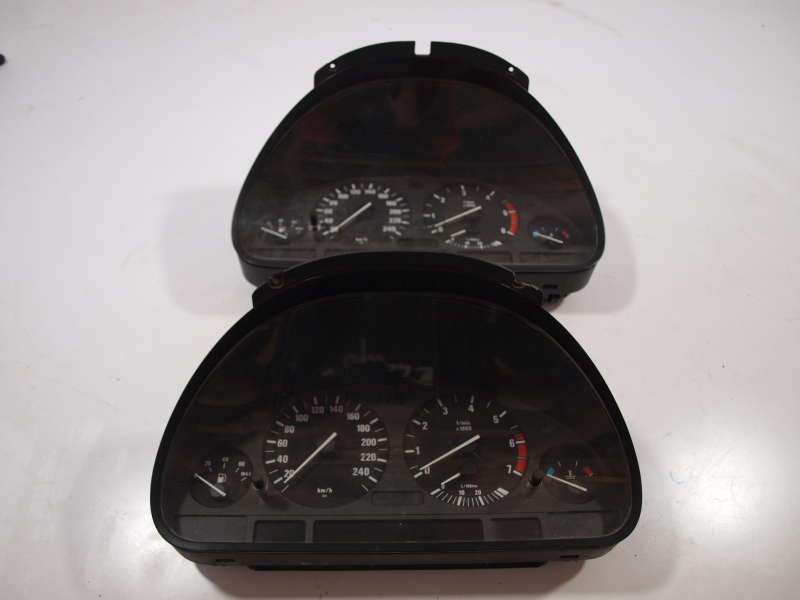 Спидометр, bmw 5 e39 (бмв), щиток приборов бмв е39 1995-2003 бензин, дизель, б/у, панель