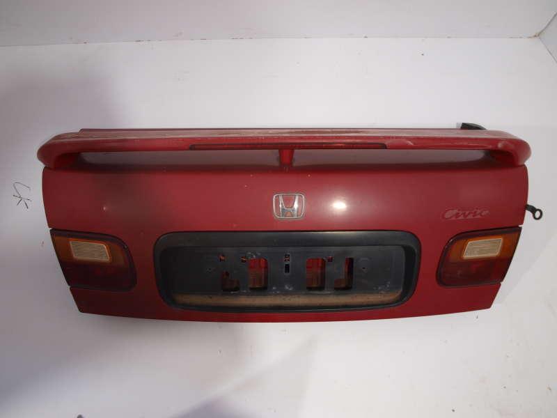Крышка багажника, honda civic (хонда), крышка багажника honda civic 1995-2000 седан бу оригинал